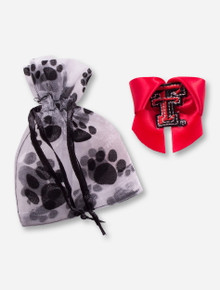 Texas Tech Red Raiders Double T Red Bow for Pets