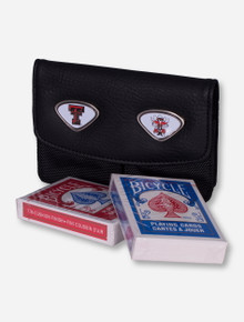 Texas Tech Raider Red 2 Stack Card Holder