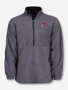 "Charles River Texas Tech ""Adirondack"" Half Zip Fleece Pullover"