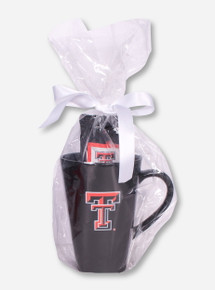Texas Tech Double T Latte and Premium Coffee Set