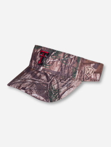 Top of The World Texas Tech RealTree Double T Camo Visor