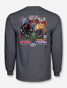 Showdown at NRG Texas Tech - 2015 Texas Bowl Heather Charcoal Long Sleeve