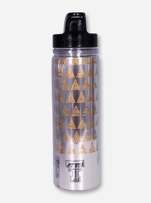 Texas Tech Double T Gold Triangle Water Bottle