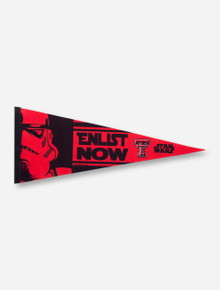 Texas Tech Star Wars Enlist Now Pennant