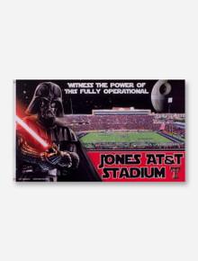 Texas Tech Darth Vader at Jones AT&T Stadium 3' x 5' Flag
