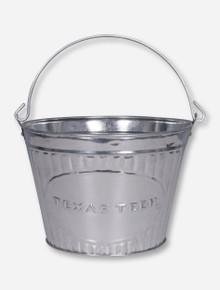 Texas Tech Metal Pail
