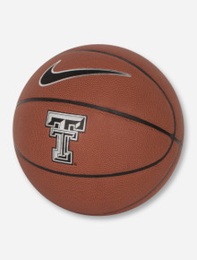 Nike Texas Tech Official Regulation Brown Basketball