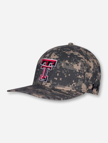 Under Armour Texas Tech 2020 On The Field Camo Stretch Fit Cap