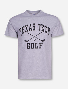 Texas Tech Golf Heather Grey T-Shirt