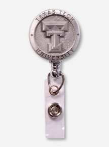 Texas Tech Pewter Badge Reel