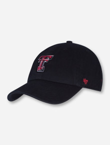 "47 Brand Texas Tech ""Clean Up"" YOUTH Adjustable Strap"