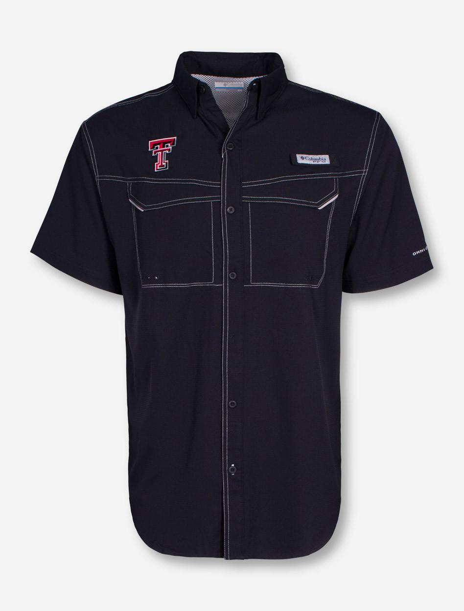 Columbia Texas Tech Red Raiders Low Drag Offshore Short Sleeve Fishing Shirt ed50d971a