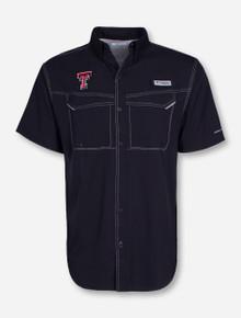 Columbia Texas Tech Low Drag Offshore Short Sleeve Fishing Shirt