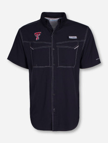 Columbia Texas Tech Low Drag Offshore Short Sleeve Fishing Shirt