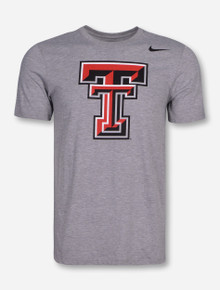 Nike Texas Tech Triblend Double T T-Shirt