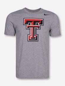 Nike Texas Tech Triblend Double T T-Shirt