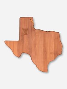 Texas Tech State Bamboo Wood Cutting Board