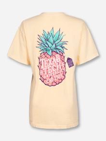 Texas Tech Pineapple Vibes on Butter T-Shirt