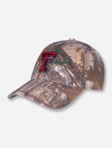 "47 Brand Texas Tech ""Clean Up"" RealTree Camo Adjustable Cap"