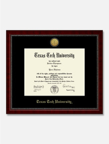 Gold Engraved Signature Diploma Frame C9