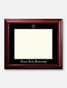 Silver Foil Seal Satin Mahogany Diploma Frame U3