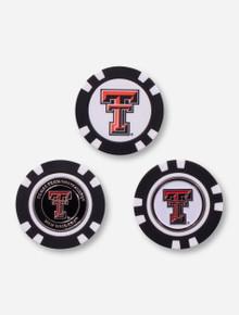 Team Golf Texas Tech Golf Chip Markers