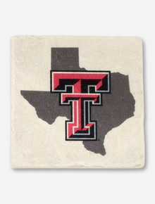 Texas Tech Lone Star Pride on Marble Coaster