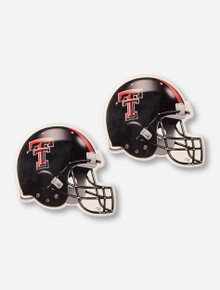Texas Tech Red Raiders Set of 2 Absorbent Football Helmet Coasters