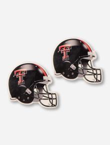 Texas Tech Red Raiders Set of 2 Absorbent Football Helmet Coasters