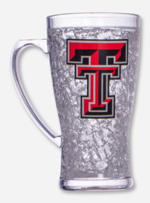 Texas Tech Double T on Clear Freezer Mug