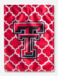 Texas Tech Double T Lattice Flag