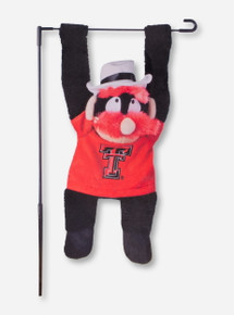 Texas Tech 3D Raider Red Garden Flag