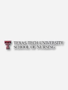 Texas Tech University School of Nursing Decal