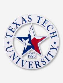 Texas Tech University State Star Decal
