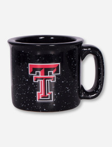 Texas Tech Double T on Speckled Campfire Mug