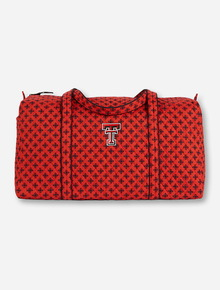 Vera Bradley Texas Tech Large Travel Duffle Bag