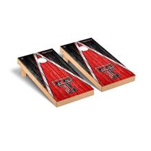 Texas Tech Red Raiders Cornhole Game Set - Triangle Weathered Version