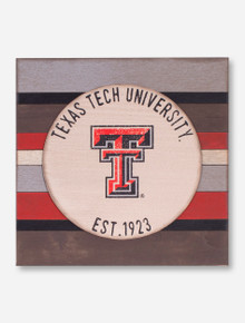 Texas Tech University Double T Vintage Board