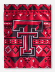 Texas Tech Double T Aztec Vertical Flag