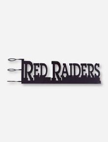 Texas Tech Red Raiders Ironworks Rain Gauge