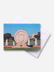 Texas Tech University Seal Photo Card