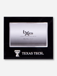 Texas Tech Streamline Chrome and Black Frame