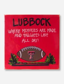 Texas Tech Memories Made Red Board