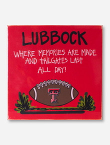 Texas Tech Memories Made Red Board
