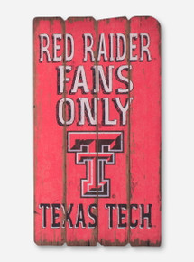 Texas Tech Red Raider Fans Only Weather Board