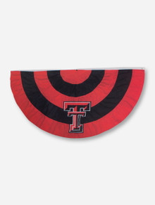 "Texas Tech Double T on Red & Black 51"" x 27"" Bunting Banner"