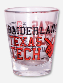 Texas Tech Red Raiders Spirit Shot Glass