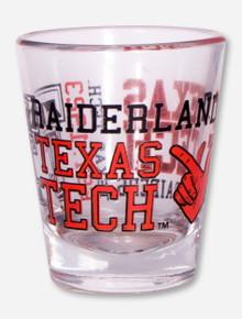 Texas Tech Red Raiders Spirit Shot Glass
