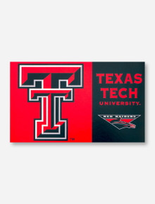 Double T Texas Tech University Red & Black 3' x 5' Flag