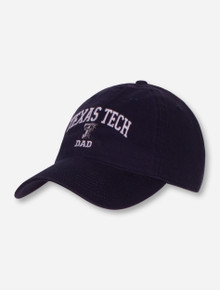 Legacy Texas Tech Dad Adjustable Navy Cap